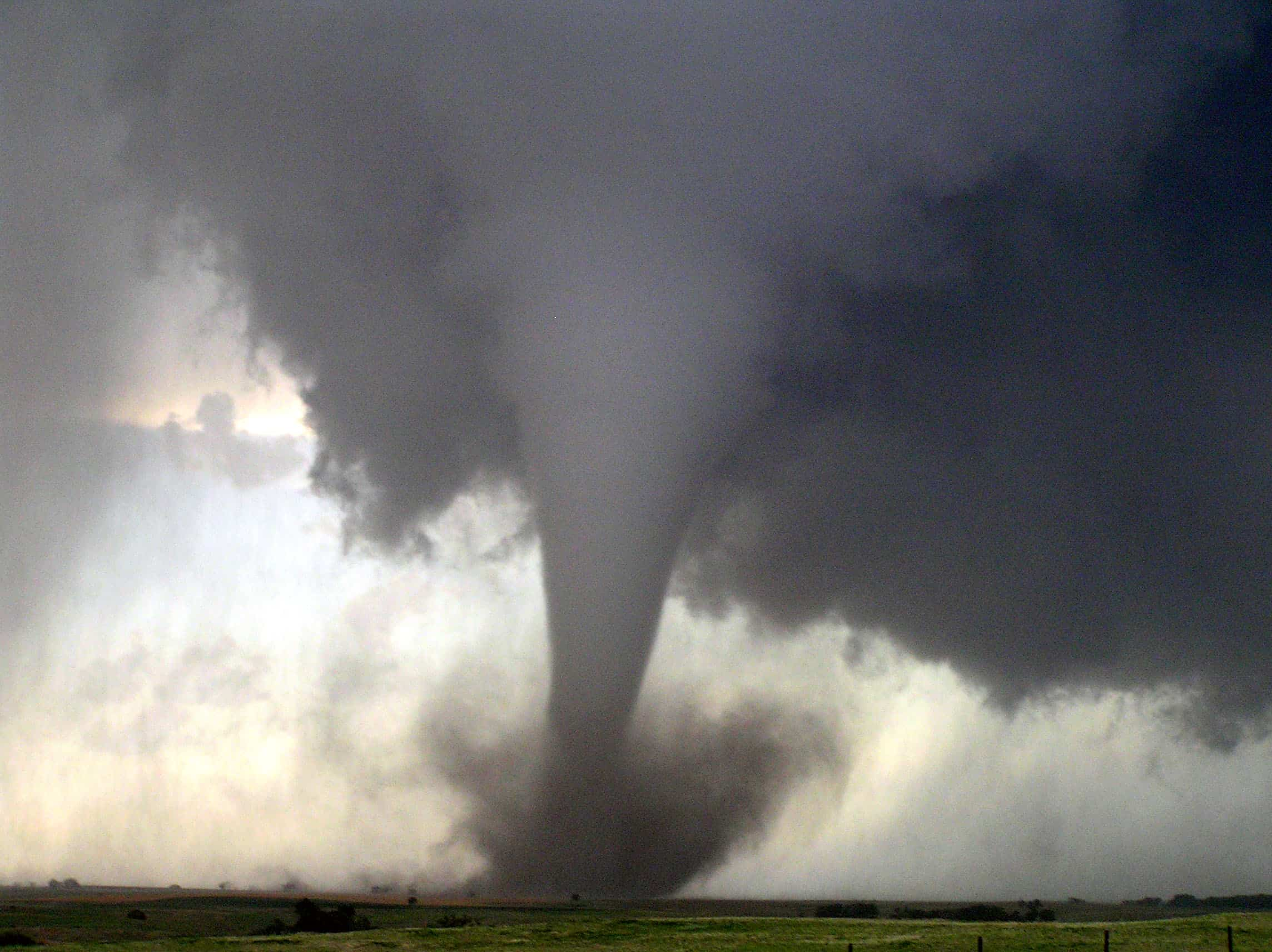 Tornado Stopped In It's Tracks!