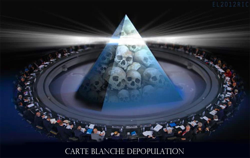 Carte Blanche Depopulation:  Crimes against all life must be declared