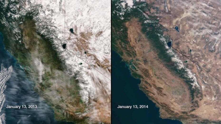 California: A Geoengineered Dust Bowl