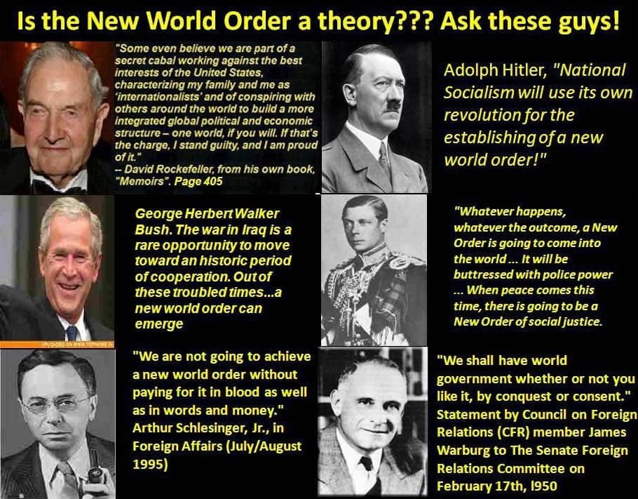 History Of The New World Order Part 1