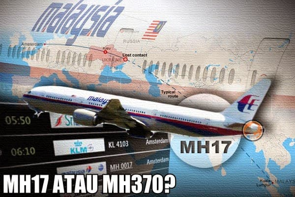 MH17 Is MH370!? The Proof's All Here
