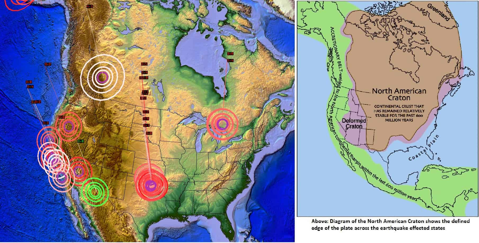EARTHQUAKE UNREST ACROSS UNITED STATES – LARGE ICELAND VOLCANIC ERUPTION POSSIBLE