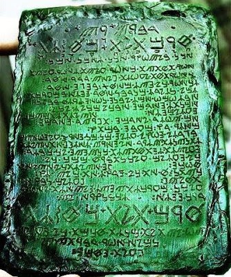 Emerald Tablet Of Thoth, 50,000 Year Old Tablets Reportedly From Atlantis