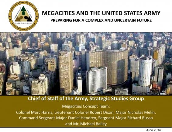 Top Secret Doc Will Make Your Blood-Boil as you Discover the Elites Latest Plan for the US Army