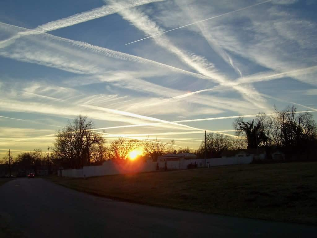 They Are Killing Us With Chemtrails In Switzerland!