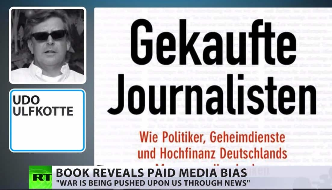 CIA Pay Western Media For Spin & Bias – German Bestseller Reveals