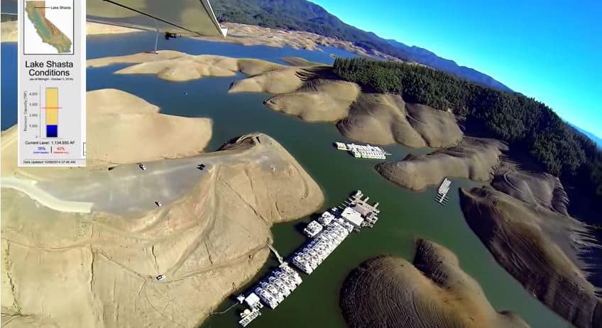 California Locked In Epic Drought