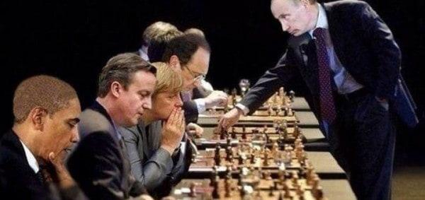 The Grand Chessboard of World War III