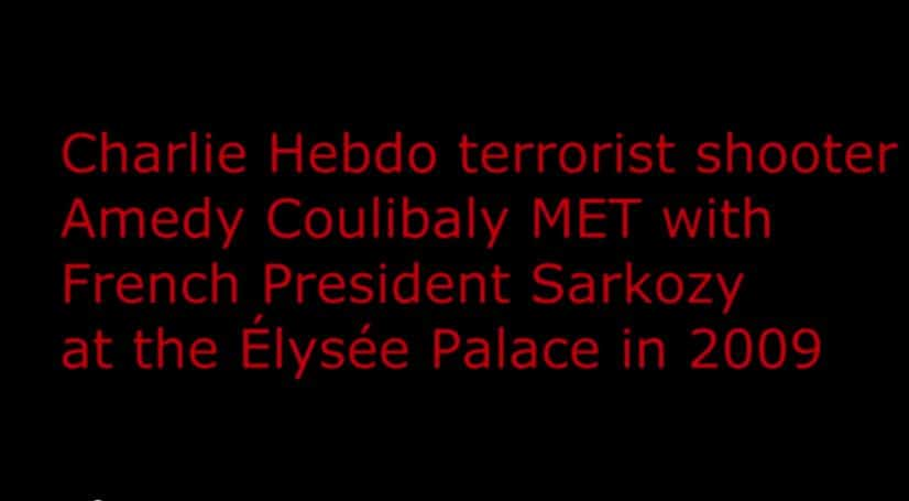 """BOOM! France False Flag! Charlie Hebdo """"terrorist"""" MET WITH FRENCH PRESIDENT at Palace"""