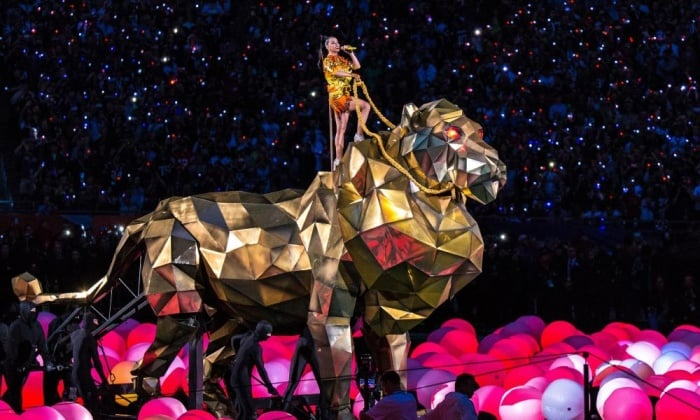 KATY PERRY RIDES THE BEAST: Revelation 17