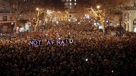 "Terror Paris WE ARE NOT AFRAID,"" AND THE NEW ENLIGHTENMENT"