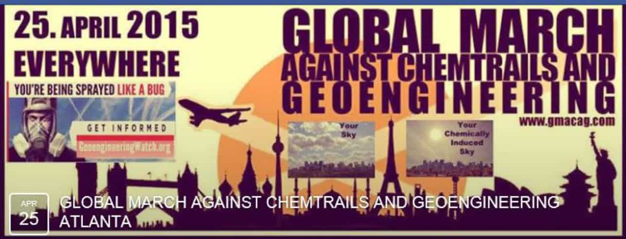 Global March Against Geoengineering
