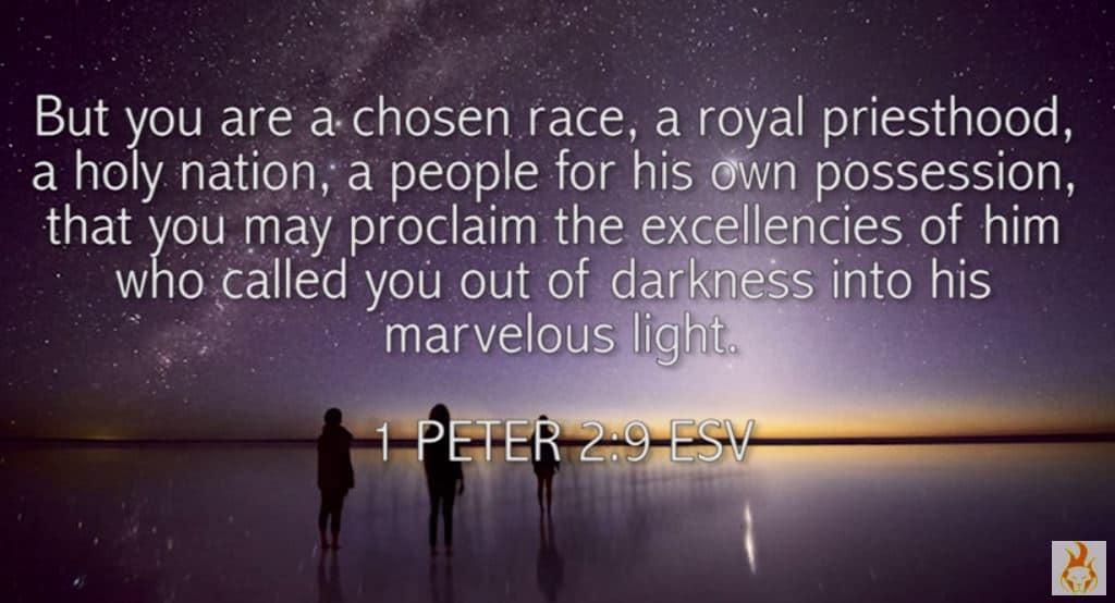 WORD of Encouragement: 1 Peter 2:9