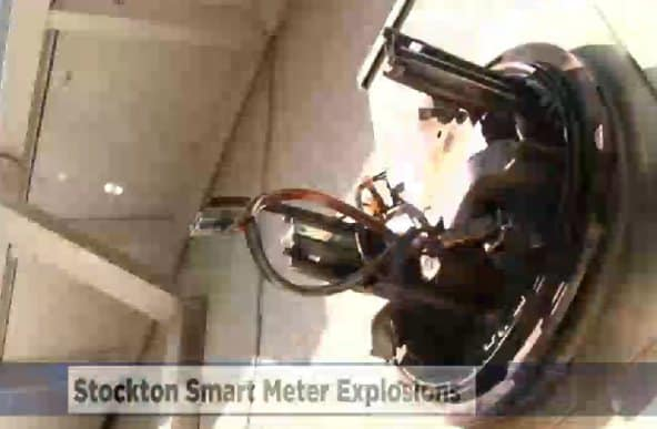Stockton Smart Meters EXPLODE After Truck Causes Power Surge!