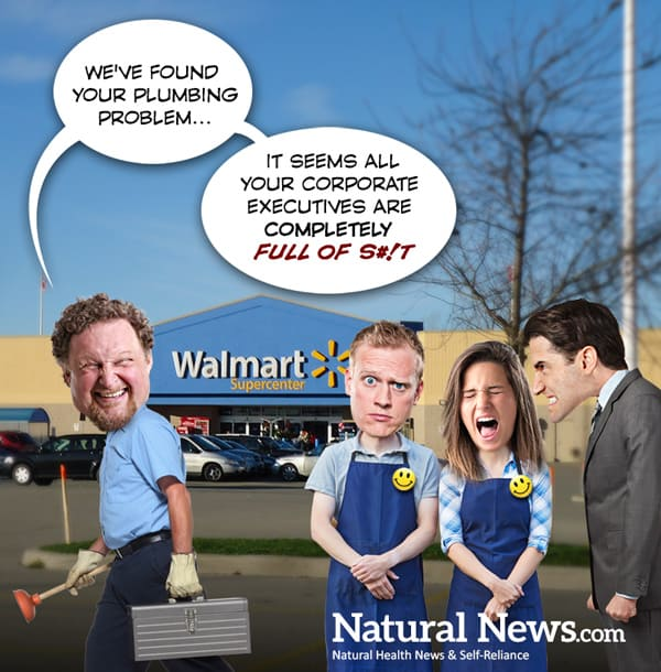 Mystery Surrounds Wal-Mart's Bizarre Cover Story of Closing Five Stores For Six Months