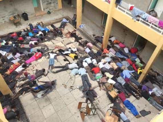 Massacre: Muslim Terrorists Attack A College, Sorts Out Christians From Muslims And Executes 70 Christian Students