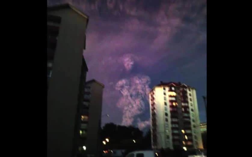 CHILE VOLCANO ERUPTION: Angel of Death?