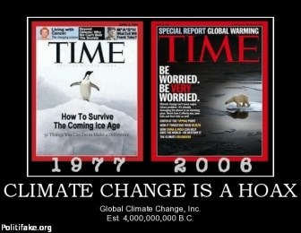 The level of deception that surrounds the issue of climate change is absolutely monumental!!