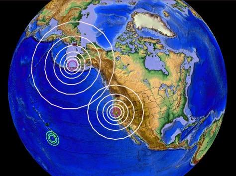 5/29/2015 — 5.1M earthquake strikes North California near Mount Shasta Volcano — DIRECTLY at Trinity Lake Dam | Dutchsinse