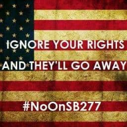 African-American community rages against SB277