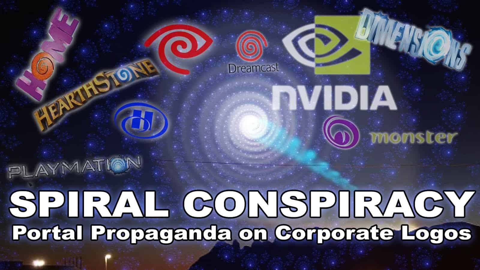 SPIRAL CONSPIRACY: Portal Propaganda on Corporate Logos