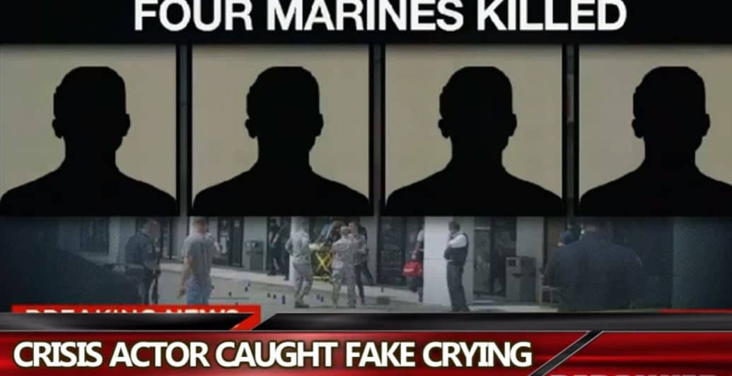 Chattanooga Shooting Hoax Crisis Actor FAKE Crying Exposed (Redsilverj)