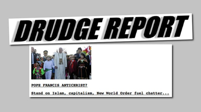 Tom Horn & Cris Putnam Suddenly On Drudge, WND, Raw Story, TPN, Charisma And Numerous Other Top News Outlets All This Week