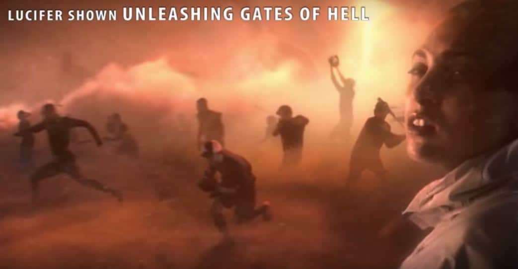 "Nephilim manifest from ""Gates of Hell"" 2015(?) (R$E)"