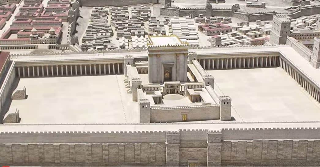 "BEHIND THE VEIL: Hidden Secrets of the ""Second Temple"""