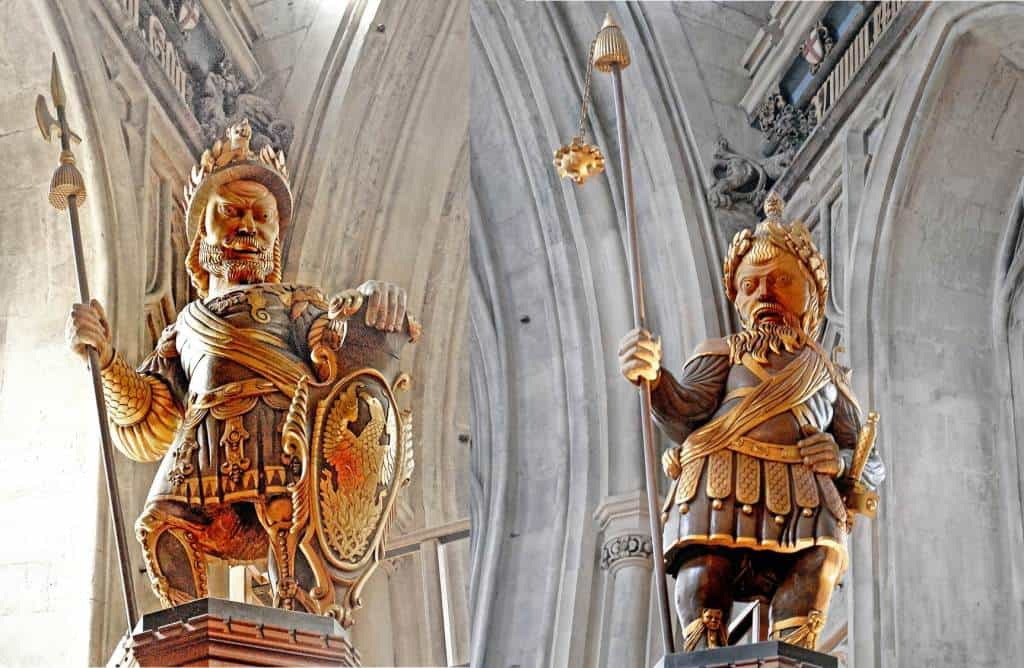"Gog and Magog are the ""Protectors"" of the City of London"