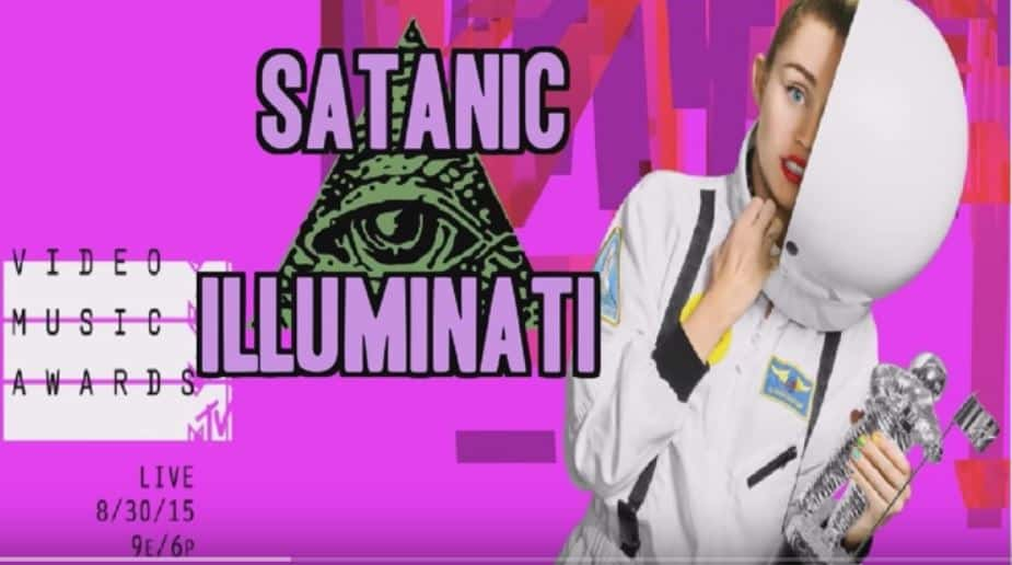 MTV VIDEO MUSIC AWARDS 2015 SATANIC ILLUMINATI RITUAL EXPOSED!