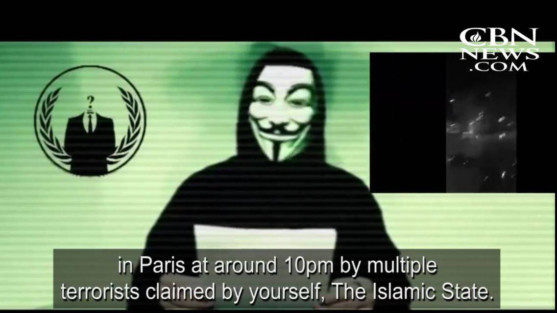 "Anonymous Announces Revenge on ""Terrorists"""