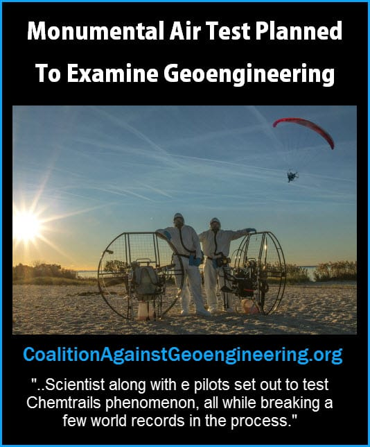 Monumental Air Test Planned to Examine Geoengineering