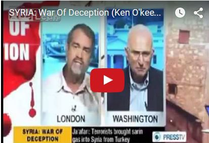Former US Marine, Ken O' Keefe, discusses Syria as a False Flag