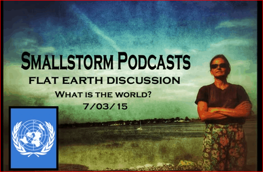 Sofia Smallstorm Flat Earth Discussion