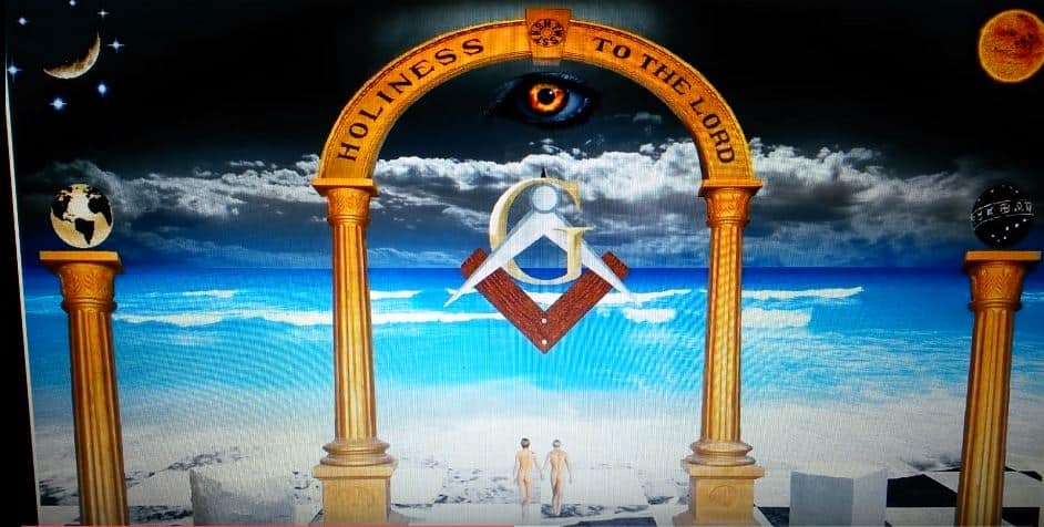 The Masonic Observer: Flat Earth / Masonic Art Proves They Know The Earth Is