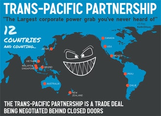 Some Real Costs of the Trans-Pacific Partnership: Nearly Half a Million Jobs Lost in the US Alone