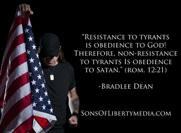 NON-RESISTENCE TO TYRANTS IS OBEDIENCE TO EVIL