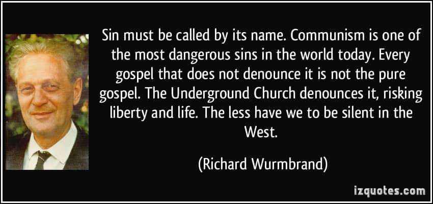 MUST WATCH! – Pastor Richard Wurmbrand – Recalls the 14 Years He Spent In A Communist Prison