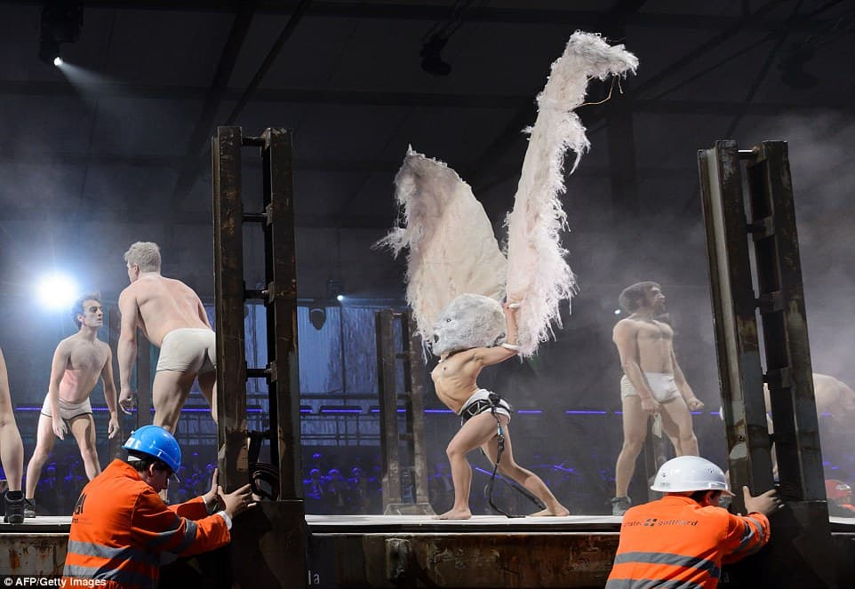 Satanism Paraded at Opening of Gotthard Tunnel