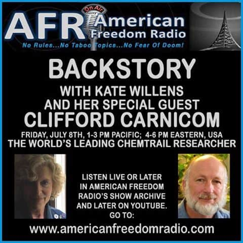 RARE INTERVIEW: THE LATEST NEWS FROM CLIFFORD CARNICOM 7-8-16