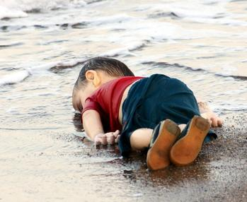 Child Refugee Drowning Was a Psy Op