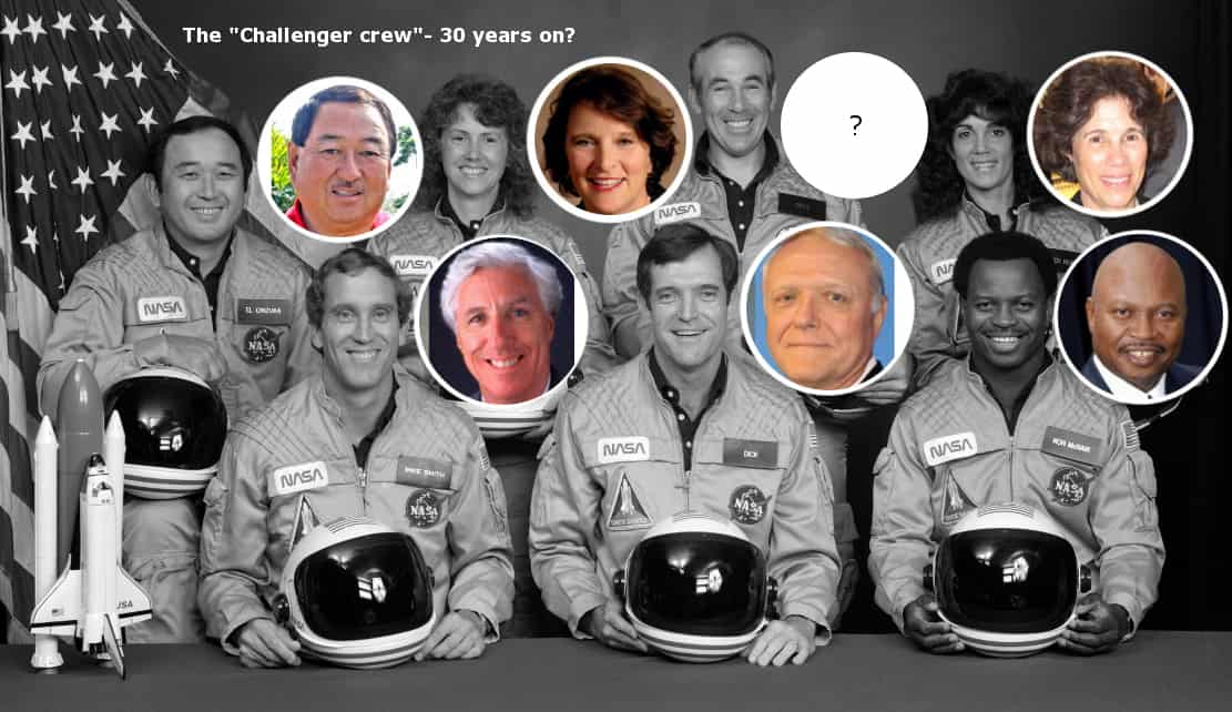 Challenger Crew Alive and Well – Just Another False Flag Media Event