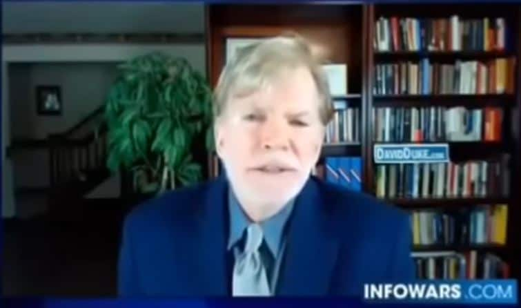 David Duke Exposing Global Zionist Takeover As Well As Alex Jones