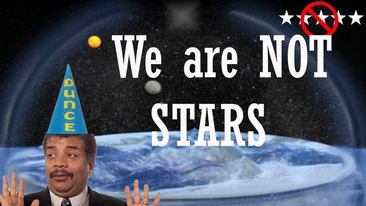 Flat Earth & The Bible – We are NOT Stars
