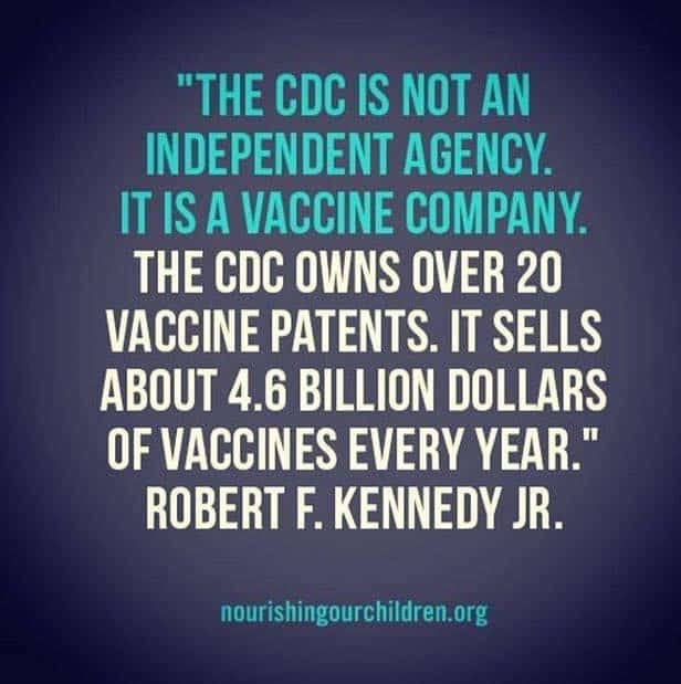 Is it True that the CDC Own Over 20 Vaccine Patents?
