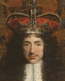 Portrait of Charles II: