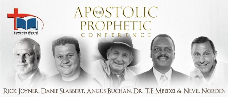 Buchan, joyner, prophetic conference