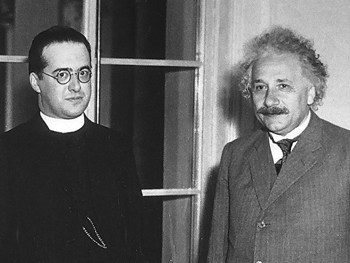 Image result for einstein lemaitre