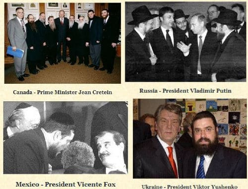 Lubavitchers mix with the upper echelons of each host country. Their influence in each country varies.